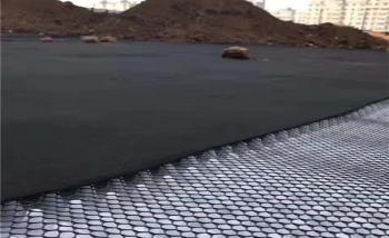 排水板网格土工布施工