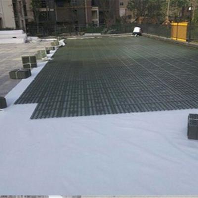 芜湖车库顶板蓄排水板施工现场