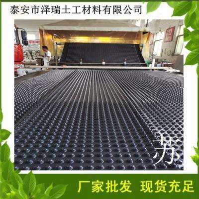 秦皇岛车库塑料排水板蓄排水板-型号齐全