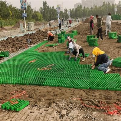 西安H18高蓄排水板车库5公分植草格